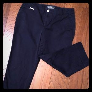 RALPH LAUREN - Navy blue Capri pants Sz-4P